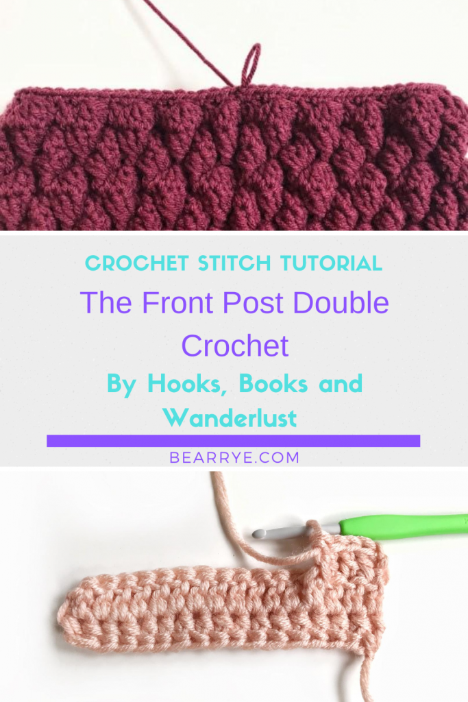 Front Post Double Crochet Pin