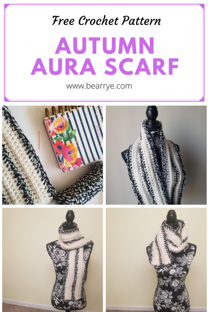 Autumn Aura Scarf Pin